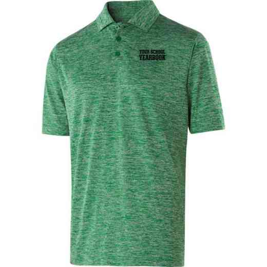 Yearbook Embroidered Holloway Electrify Polo