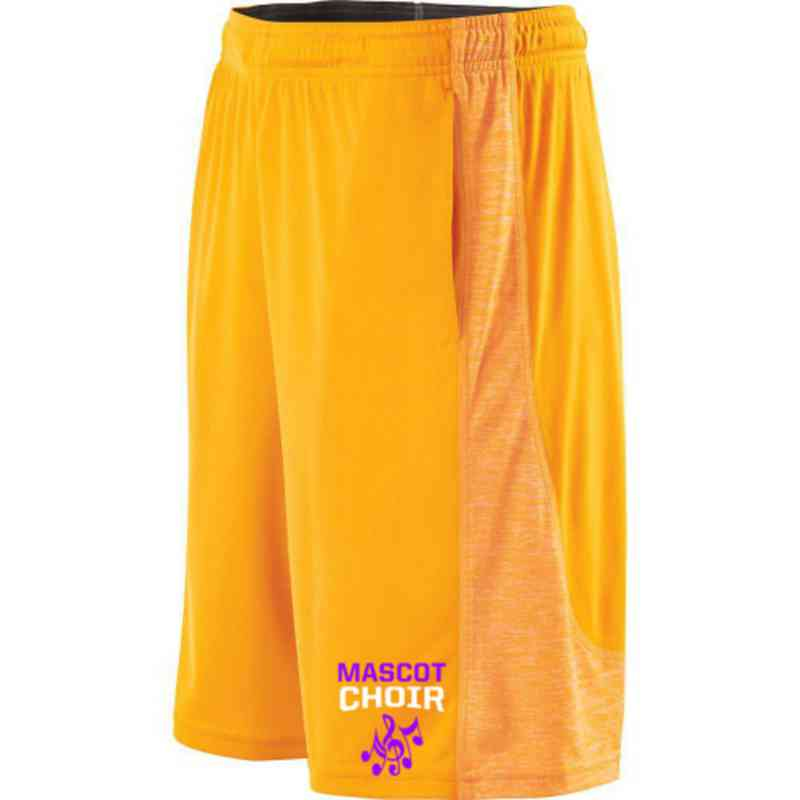 Choir Embroidered Holloway Youth Electron Short