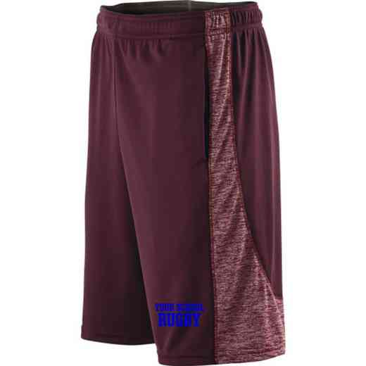 Rugby Embroidered Holloway Youth Electron Short