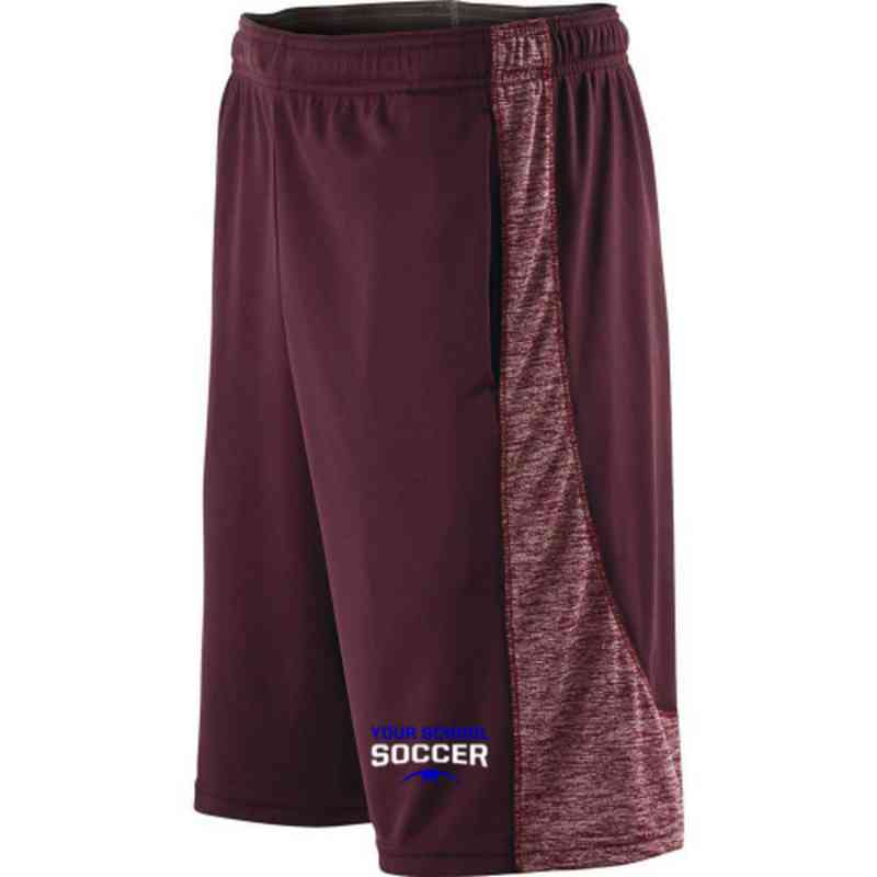 Soccer Embroidered Holloway Youth Electron Short
