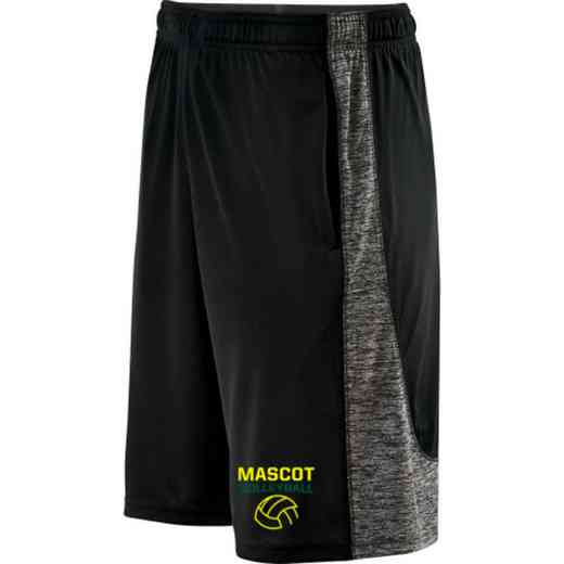 Volleyball  Embroidered Holloway Youth Electron Short