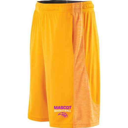 Basketball Embroidered Holloway Electron Short