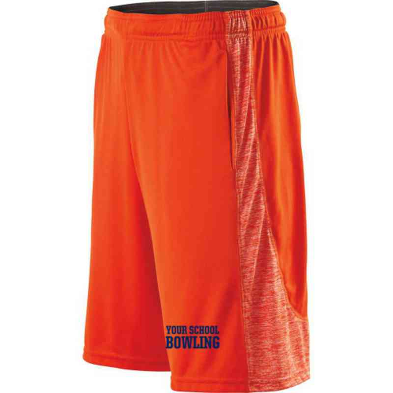 Bowling Embroidered Holloway Electron Short