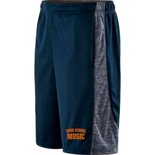 Music Embroidered Holloway Electron Short