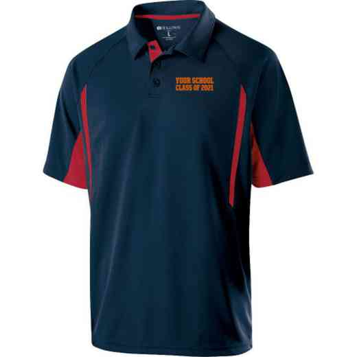 Class of  Embroidered Mechanical Stretch Polo