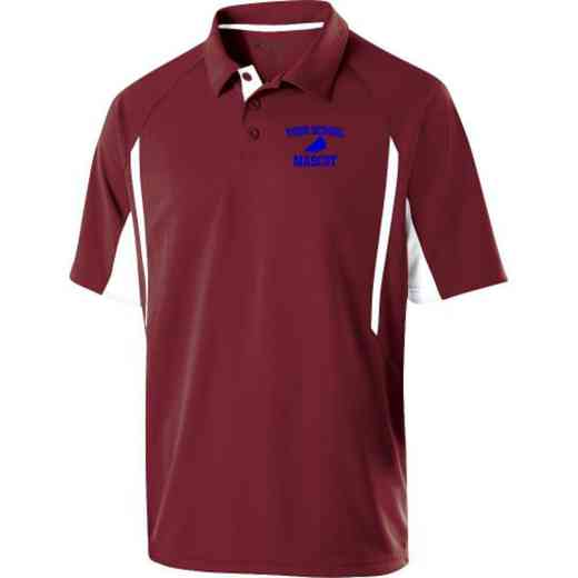 Drill Team Embroidered Mechanical Stretch Polo