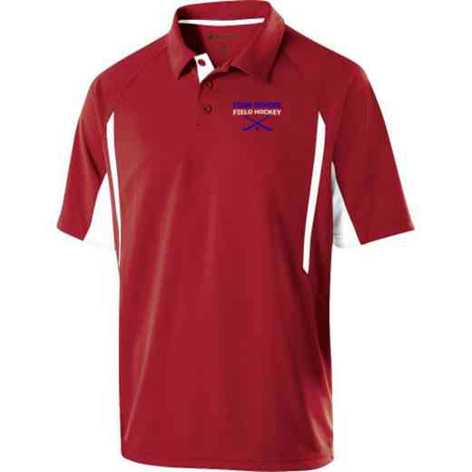 Field Hockey Embroidered Mechanical Stretch Polo