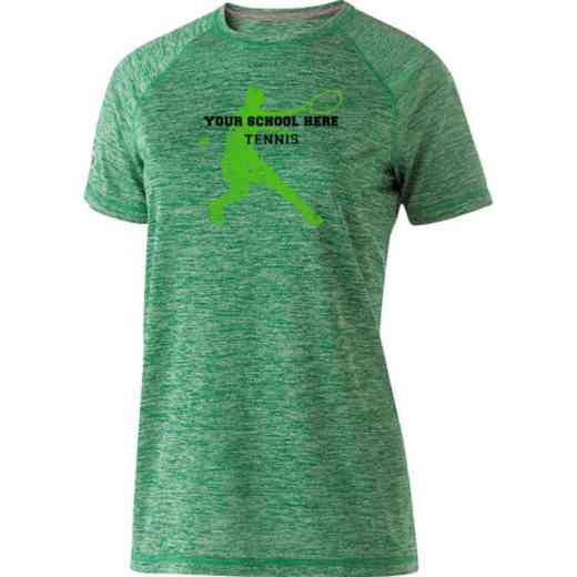 Tennis Womens Holloway Heather Electrify Perform Shirt