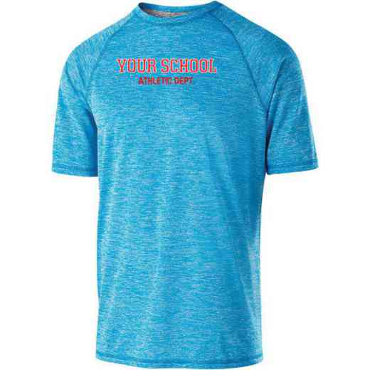 Athletic Department Holloway Electrify Heathered Performance Shirt