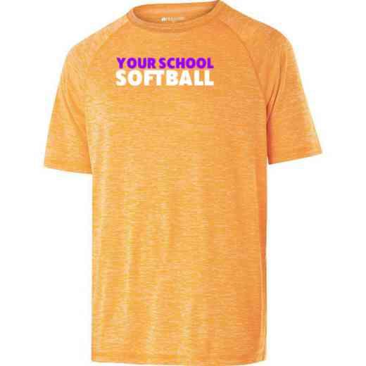 Softball Holloway Electrify Heathered Performance Shirt