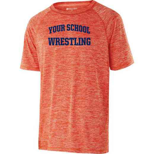 Wrestling Holloway Electrify Heathered Performance Shirt