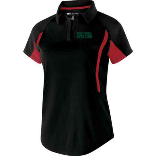Beta Club Embroidered Holloway Ladies Avenger Polo