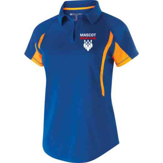 Bowling Embroidered Holloway Ladies Avenger Polo