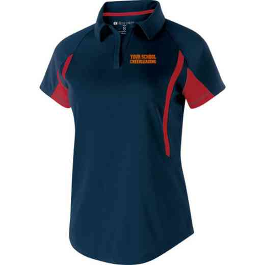 Cheerleading Embroidered Holloway Ladies Avenger Polo