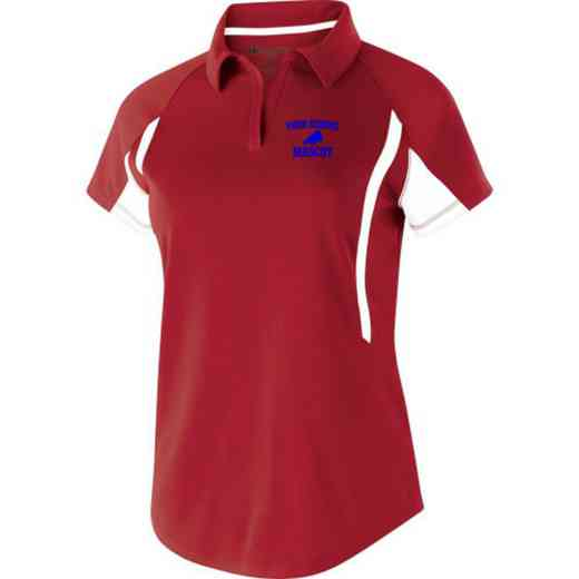 Drill Team Embroidered Holloway Ladies Avenger Polo