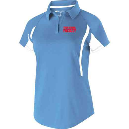 Faculty Embroidered Holloway Ladies Avenger Polo