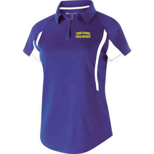 Field Hockey Embroidered Holloway Ladies Avenger Polo