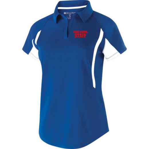 Staff Embroidered Holloway Ladies Avenger Polo