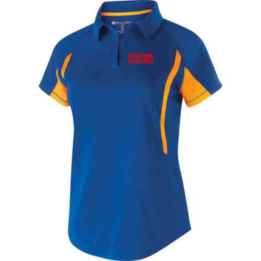 Volleyball  Embroidered Holloway Ladies Avenger Polo