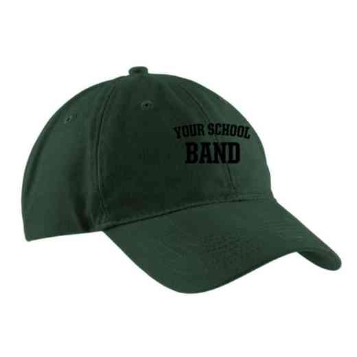 Band Embroidered Brushed Twill Cap