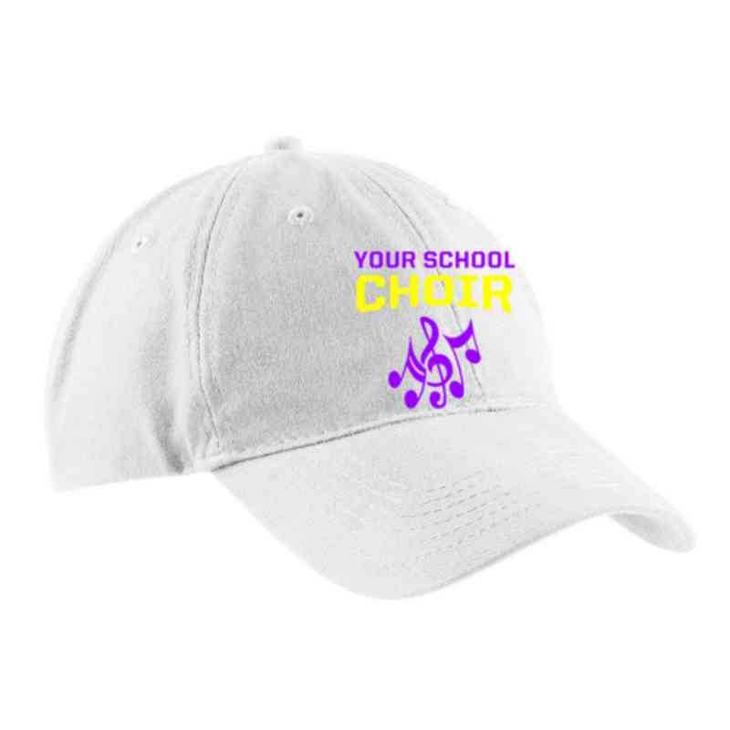 Choir Embroidered Brushed Twill Cap