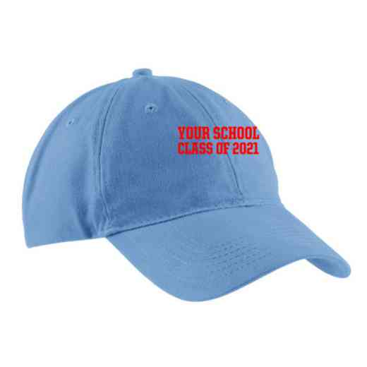 "Class of """" Embroidered Brushed Twill Cap"