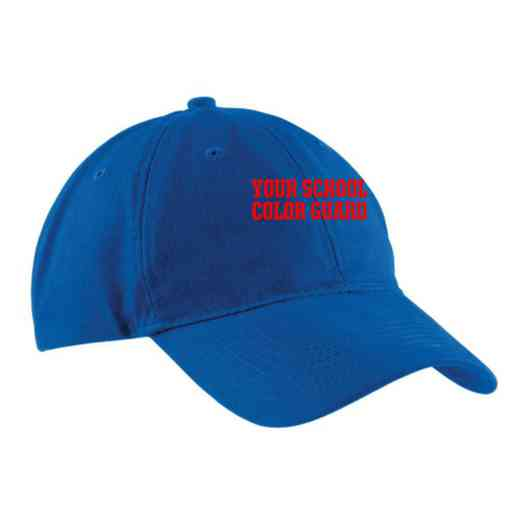 Color Guard Embroidered Brushed Twill Cap