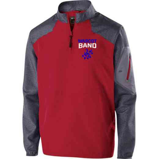 Band Embroidered Holloway Raider Jacket