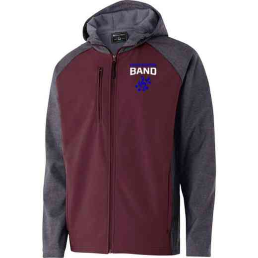 Band Embroidered Holloway Raider Soft Shell Jacket
