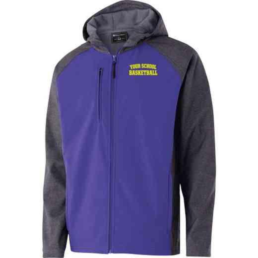 Basketball Embroidered Holloway Raider Soft Shell Jacket