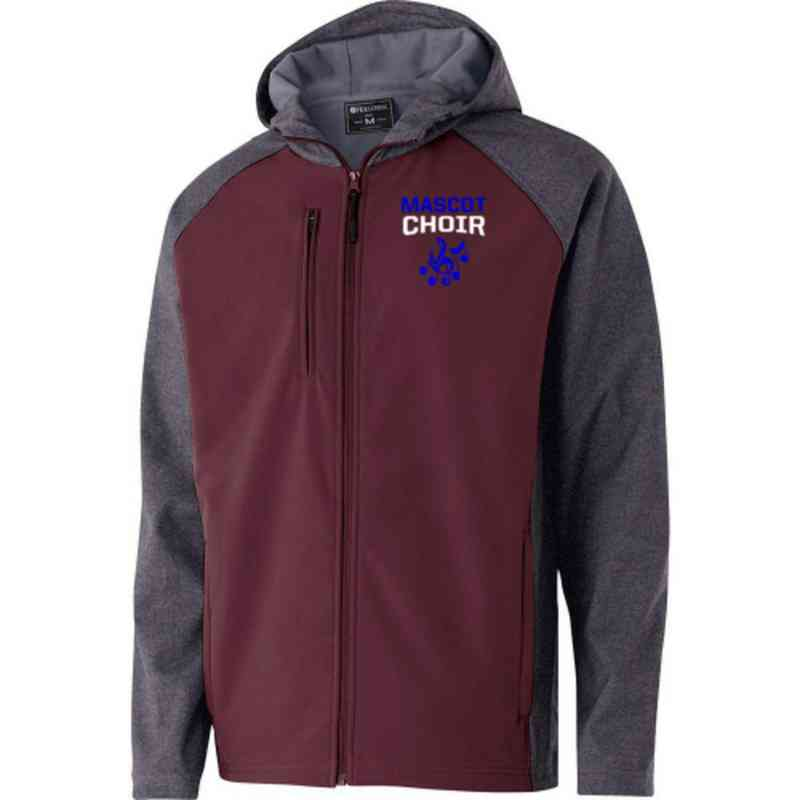 Choir Embroidered Holloway Raider Soft Shell Jacket