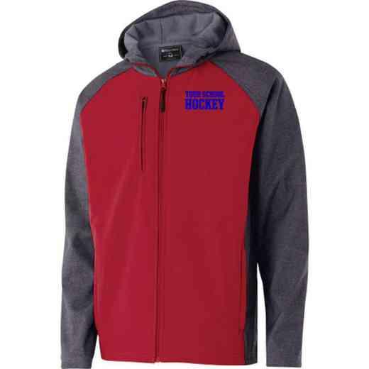 Hockey Embroidered Holloway Raider Soft Shell Jacket