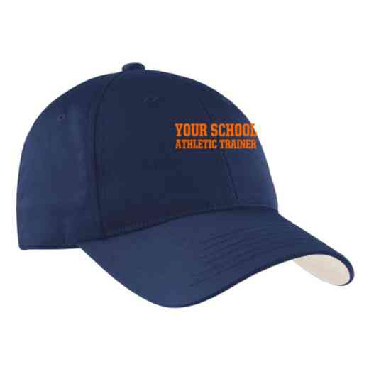 Athletic Trainer Embroidered Sport-Tek Nylon Cap