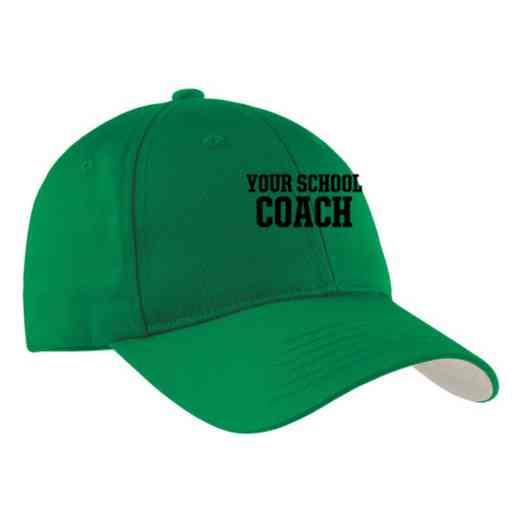 Coach Embroidered Sport-Tek Nylon Cap
