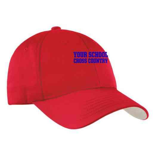 Cross Country Embroidered Sport-Tek Nylon Cap