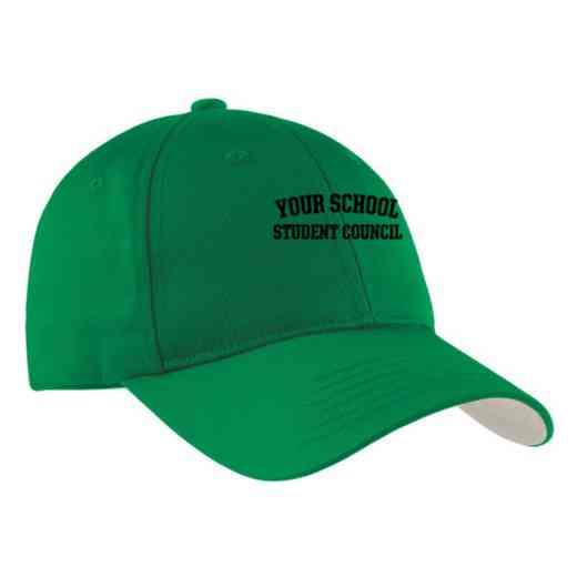 Student Council Embroidered Sport-Tek Nylon Cap