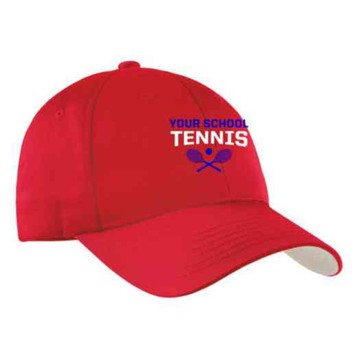 Tennis Embroidered Sport-Tek Nylon Cap