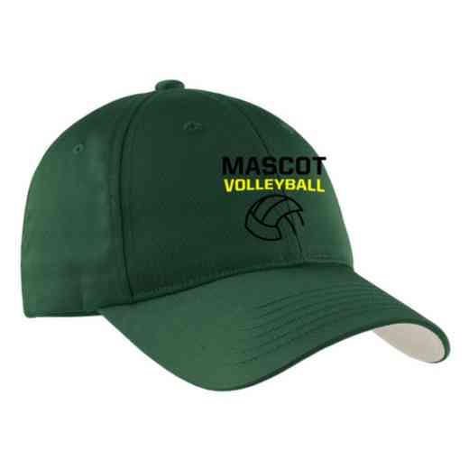 Volleyball  Embroidered Sport-Tek Nylon Cap