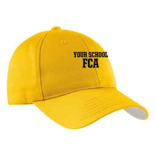 FCA Embroidered Sport-Tek Nylon Cap