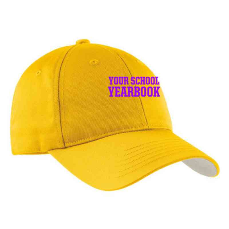 Yearbook Embroidered Sport-Tek Nylon Cap