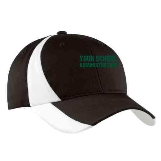 Administration Embroidered Sport-Tek Color-Block Cap