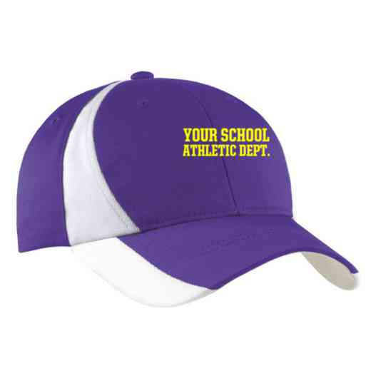 Athletic Department Embroidered Sport-Tek Color-Block Cap