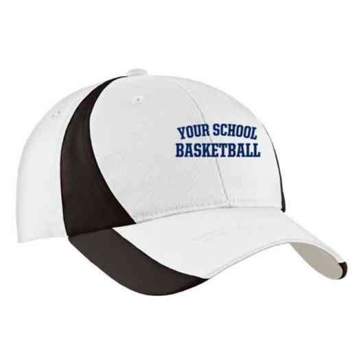 Basketball Embroidered Sport-Tek Color-Block Cap