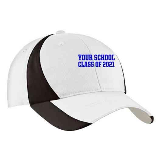 "Class of """" Embroidered Sport-Tek Color-Block Cap"