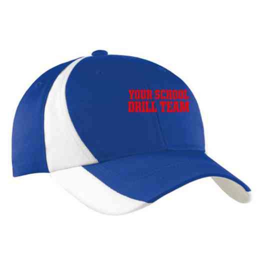 Drill Team Embroidered Sport-Tek Color-Block Cap