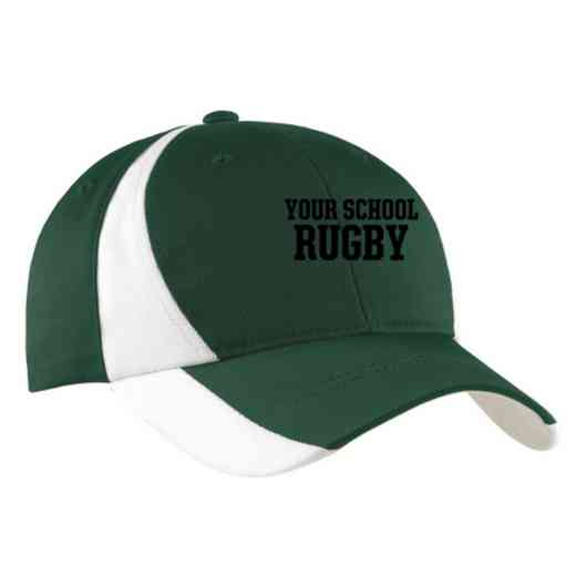 Rugby Embroidered Sport-Tek Color-Block Cap
