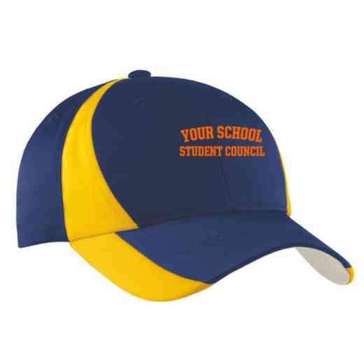 Student Council Embroidered Sport-Tek Color-Block Cap