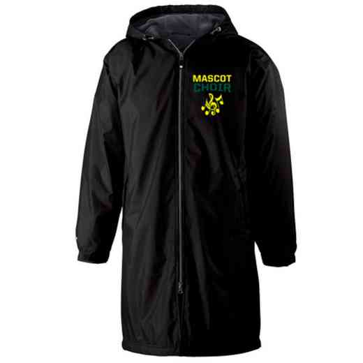 Choir Embroidered Holloway Conquest Stadium Jacket