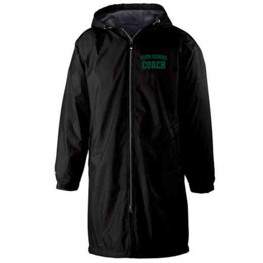Coach Embroidered Holloway Conquest Stadium Jacket