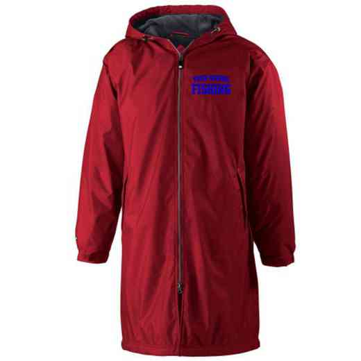 Fishing Embroidered Holloway Conquest Stadium Jacket